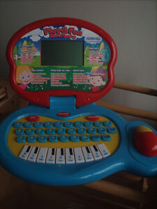 Asder Play & Fun Music Laptop, battery included, good physical &