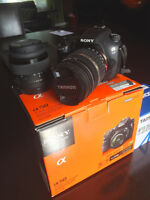 Sony Alpha A58 DSLR Kit with Tamron 18-200 Zoom - Like New