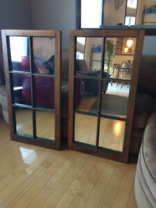 Converted Window to Mirrors - 2