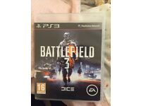 Battlefeild 3 PS3 game for sale