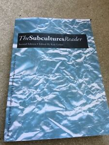 The subcultures reader