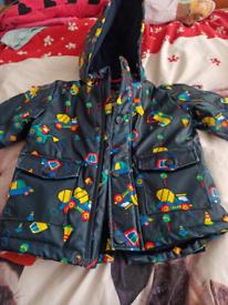 Boys rain coat age 1and half to 2 years