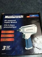 "Mastercraft 3/8"" air-powered Impact wrench"