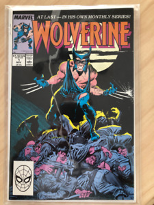Wolverine Comic Book Lot 1-10, 52, 75, 125 NM or better Key Lot