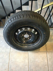 WINTER RIMS&TIRES 5X114.3 205/70/15 TRIANGLE HONDA TOYOTA MAZDA Kitchener / Waterloo Kitchener Area image 1