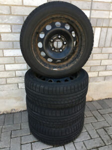 Winter Tire With Steel Rimes For Sale