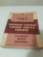 1967 shop manual for Camaro Corvette Chevelle