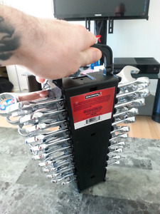 22 piece Metric/imperial wrench set