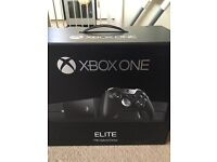 Xbox one 1tb hybrid elite console with 6 games