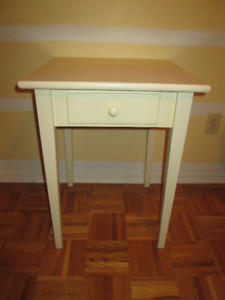 Desk/side table with drawer