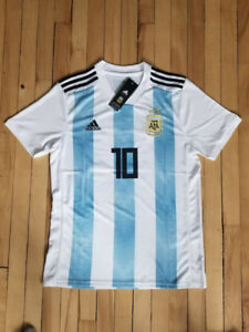 World Cup 2018 - Argentina Jersey - Messi #10