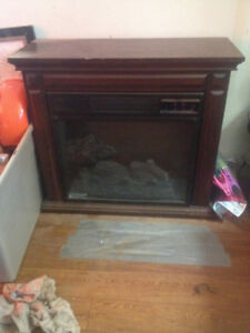 25 in Electric Fireplace