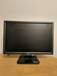 "19"" ACER Computer Monitor"