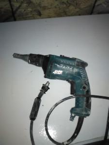 Makita high speed drywall screw gun