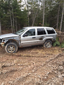 Jeep Grand Cherokee for Parts