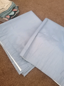 Curtains, pelmet and cushion covers