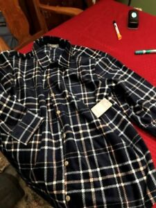 Lee womens soft flannel plaid shirt- paid 30 still with tags