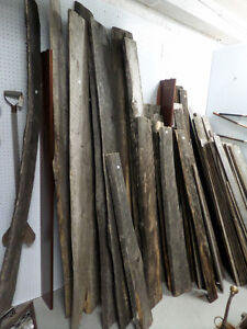 More Reclaimed Wood Barn Boards - BLUE JAR Antique Mall