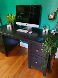 IKEA Desk - Hemnes dark-brown