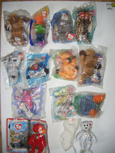 14 Mcdonalds Collectible Teanie Beanie tys for sale