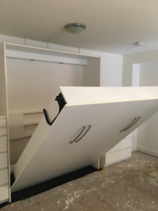 Murphy Bed - King - Good condition! - OBO - Quick sale
