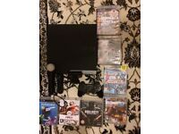 PS3, 7games, controller, PlayStation move