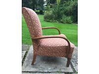 1940s Armchair Original Upholstery