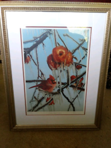 Bruce Lawes - candy apple cardinal signed limited edition