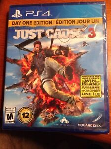JUST CAUSE 3 PS4 NEW