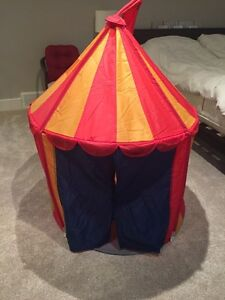 Playhouse tent for boy or girl