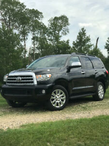 2011 Toyota Sequoia limited edition