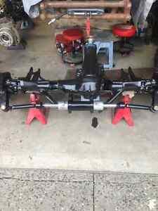 Unimog axles
