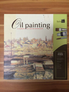 Never used oil painting kit for sale!