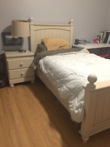 Single Bed includes mattress and dresser and night stand