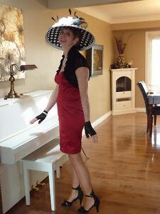 VINTAGE LADIE'S FORMAL HATS & ACCESSORIES RENTAL ONLY