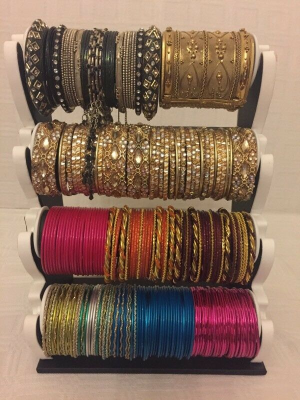 4 Tier bangles stand with bangles | in Bradford, West Yorkshire ...