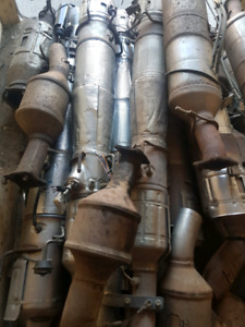 Catalytic converters and diesel exhaust system