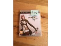 Final Fantasy XIII PS3 game