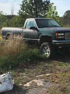 1998 GMC Sierra with 9 inch lift