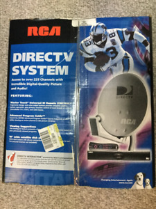 RCA Direct TV Satellite System