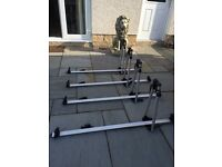 Exodus roof mount cycle carriers