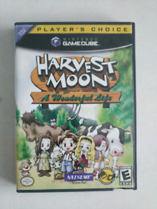 Harvest Moon A Wonderful Life for GameCube