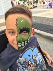 Face Painting/ Glitter Tattoos/ Balloon Twisting for ONLY $75/hr