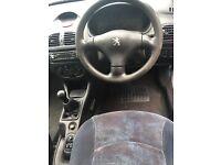 2000 Peugeot 206 1.1 MOT till Nov PRICE DROP £400 (NOT Clio, Corsa, micra, 207, 307, Suzuki)
