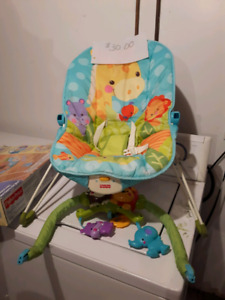Various baby and toddler items