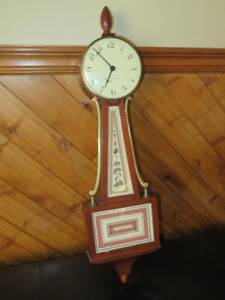 Antique Seth Thomas Banjo Clock
