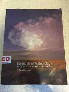 Essentials of Meteorology Seventh Edition