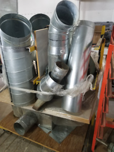 Used Dust Collector Pipes & Connectors - REF# 1740BM