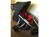 Phil & Teds Vibe single or double pram/pushchair