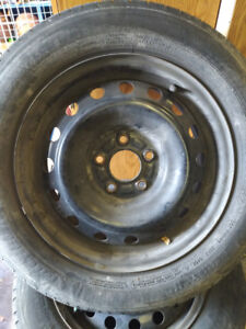 """16"""" Steel Rims..... Great for winter tires"""